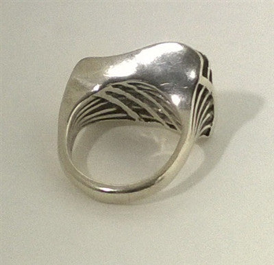 Handcrafted Sterling Silver Abstract Ring