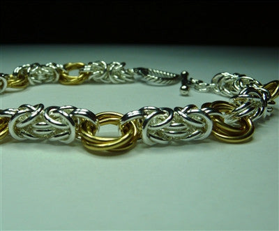 "Byzantine ""Mobius"" Chainmaille Bracelet"