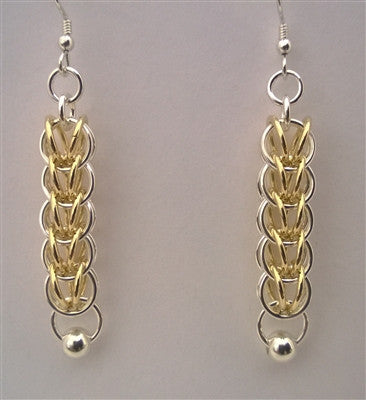 Passionate Persian Chainmaille Earrings