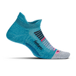 feetures ELITE LIGHT CUSHION NO-SHOW TAB- AURORA BLUE