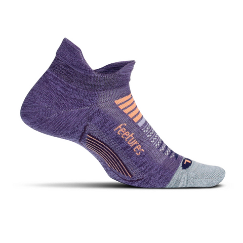 feetures ELITE LIGHT CUSHION NO-SHOW TAB- PULSAR PURPLE