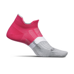 feetures ELITE LIGHT CUSHION NO-SHOW TAB- FIERCE MAGENTA