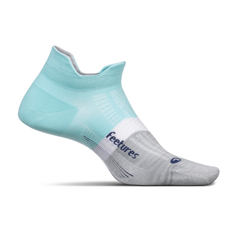 feetures ELITE LIGHT CUSHION NO-SHOW TAB- PURIST BLUE