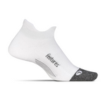 feetures ELITE LIGHT CUSHION NO-SHOW TAB- WHITE