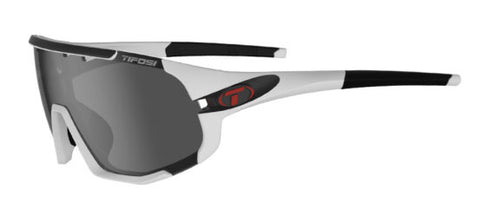 SLEDGE | MATTE WHITE - SMOKE, AC RED & CLEAR LENSES