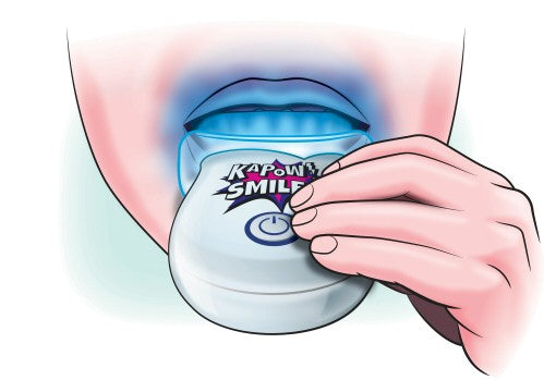 Teeth Whitening Instructions Light