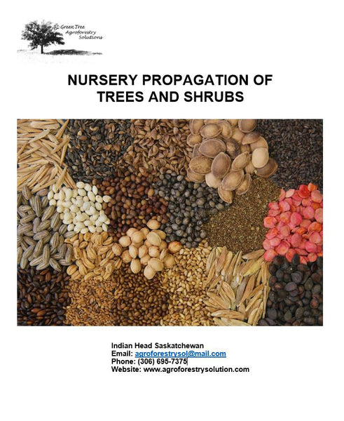 Propagation of Trees and Shrubs Manual