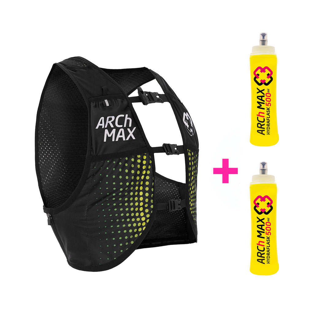 HV-6 SS20 Yellow Unisex (2020-2021) + 2 Hydraflask 500ml