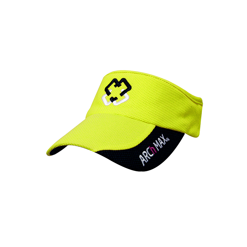 Visor ARCh MAX Ultralight Elastic - Yellow