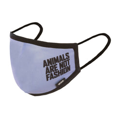 Eco Mask Adultos - Animals Are Not Fashion - 50 Lavados - European Specification CWA 17553:2020