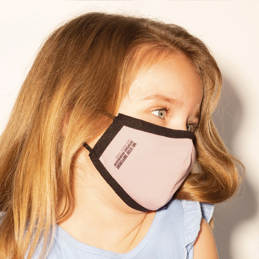 Eco Mask Infantil - Pink - 50 Lavados - European Specification CWA 17553:2020