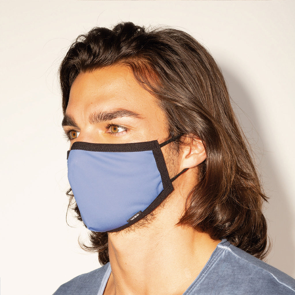 Eco Mask Adultos - Blue - 50 Lavados - European Specification CWA 17553:2020