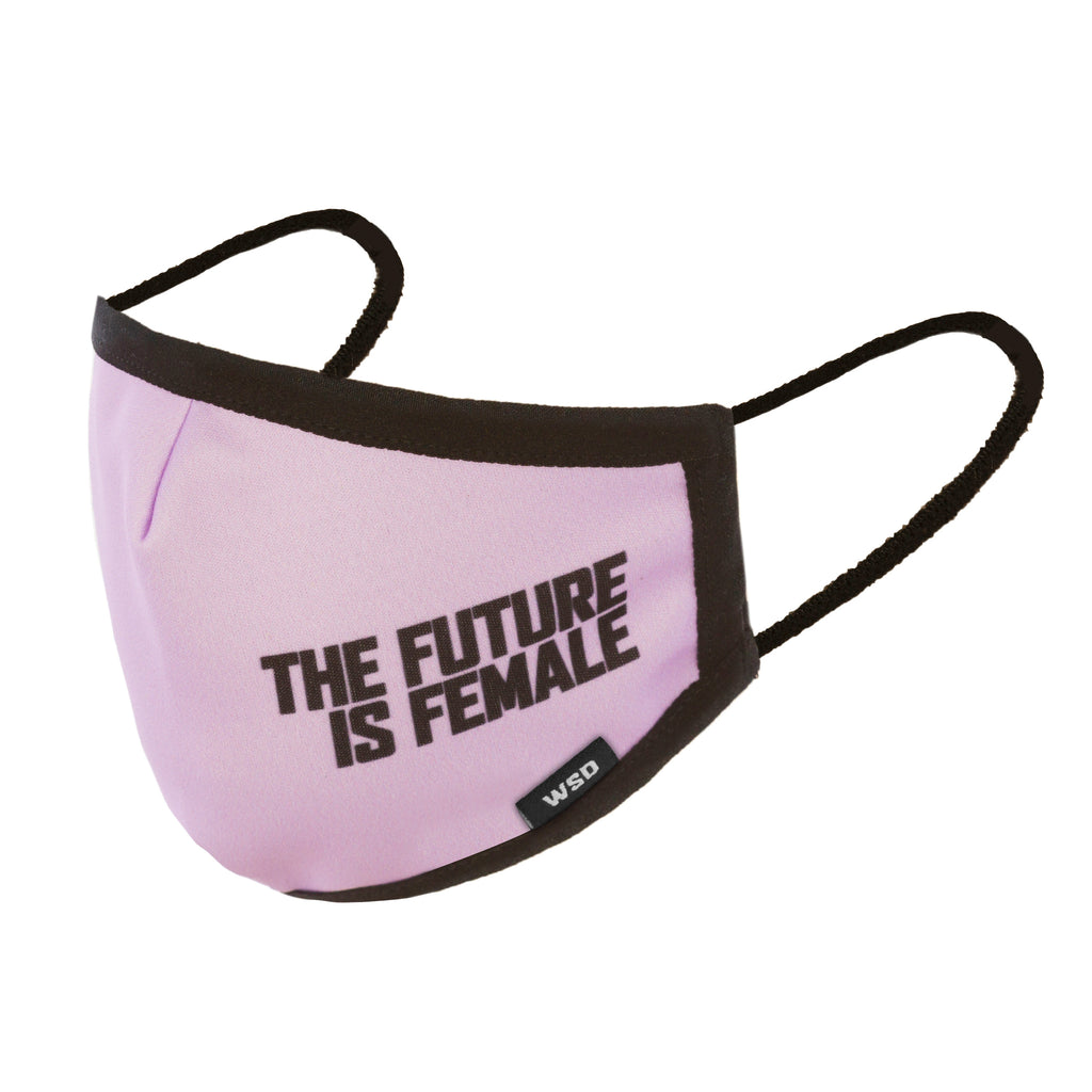 Eco Mask Adultos - The Future Is Female - 50 Lavados - European Specification CWA 17553:2020