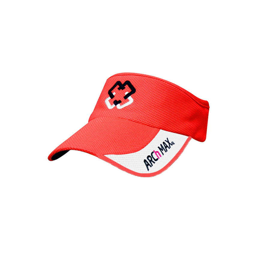 Visor ARCh MAX Ultralight Elastic - Red - ARCh MAX