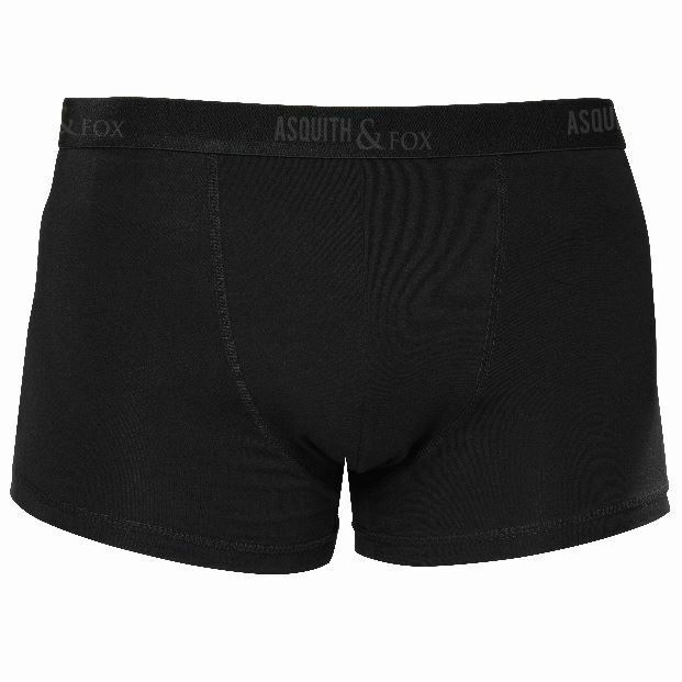 Mens 2 Pack Boxer Shorts - Black