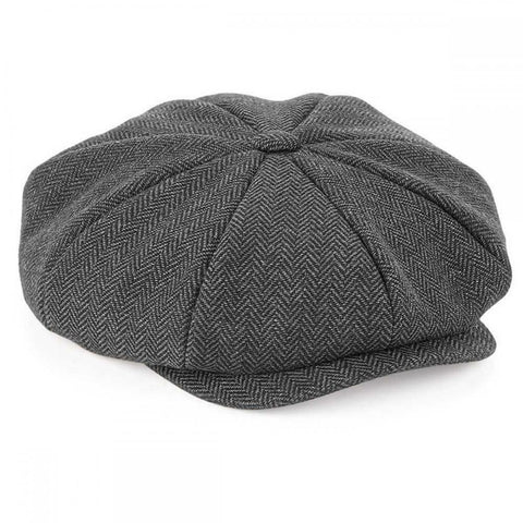 Adult Baker Boy Cap - Grey