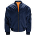 Mens MA1 Flight Bomber Jacket - Navy