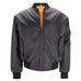 Mens MA1 Flight Bomber Jacket - Black