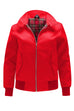 Womens Classic Harrington Jacket - Red