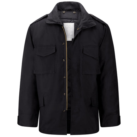 Mens M65 Field Jacket - Black