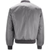 Mens MA1 Flight Bomber Jacket - Grey
