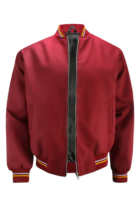 Classic Monkey Jacket - Burgundy