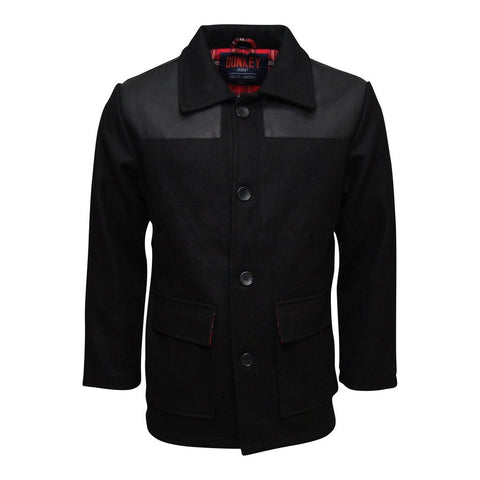 Mens Relco Donkey Jacket - Black