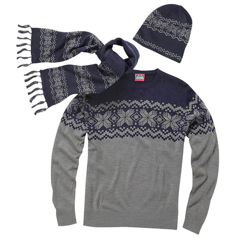 Unisex Jumper, Hat and Scarf Set