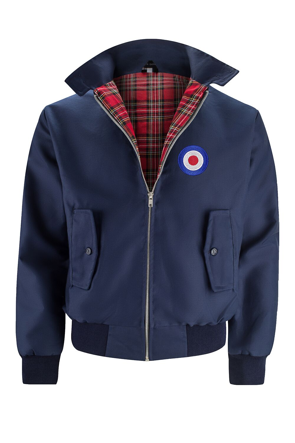 Classic Harrington Jacket - Navy (with MOD badge)