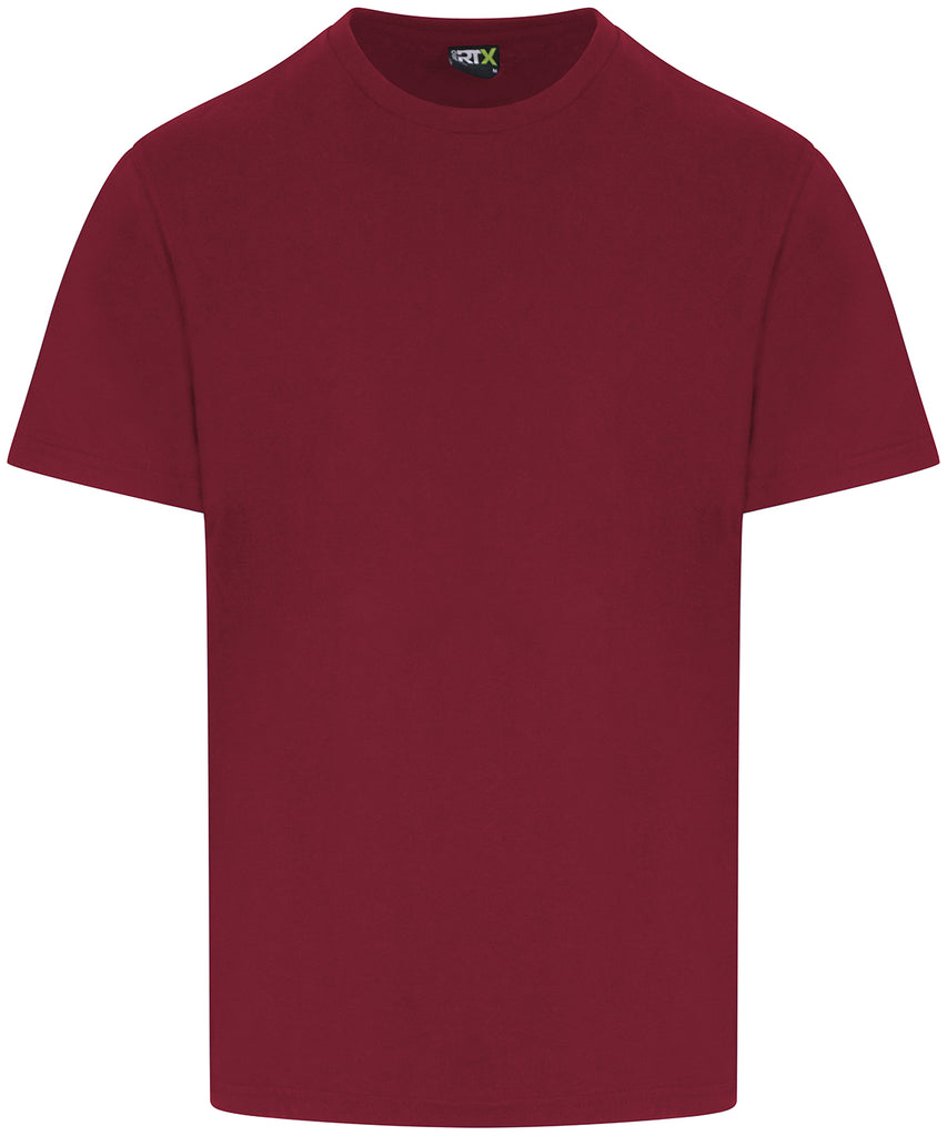 Mens Plain T-Shirt - Burgundy