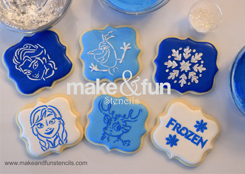 Cookie decorating with Royal Icing (Video)
