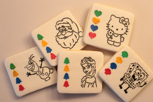 PYO cookies, Decorating cookie, Cake Stencil (Video)| Torten Schablone