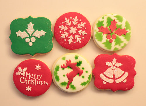 Christmas Cookies Decorating with Royal Icing (Video)
