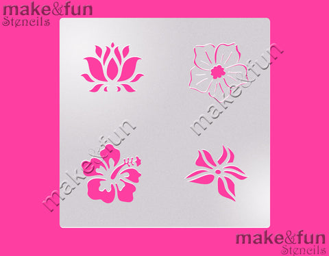 Flowers cookie Stencil for chocolate covered Oreos|Kuchen Schablonen, Airbrush und Royal Icing