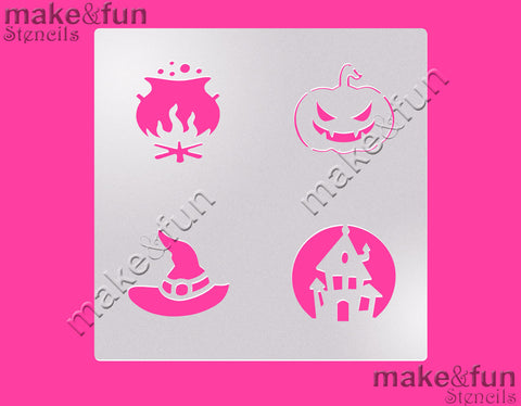 Halloween cookie Stencil for chocolate covered Oreos|Kuchen Schablonen, Airbrush und Royal Icing