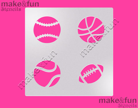 Copy of Ball cookie Stencil for chocolate covered Oreos|Kuchen Schablonen, Airbrush und Royal Icing