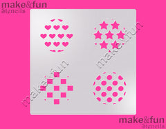 Pattern cookie Stencil for chocolate covered Oreos|Kuchen Schablonen, Airbrush und Royal Icing