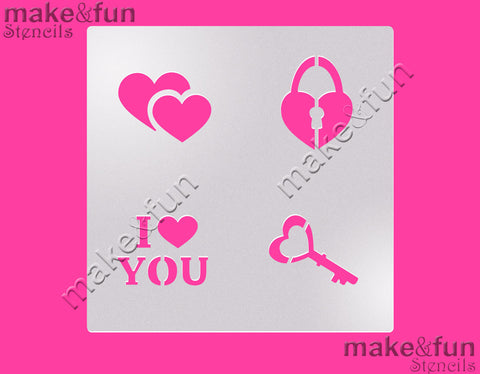 Valentine cookie Stencil for chocolate covered Oreos|Kuchen Schablonen, Airbrush und Royal Icing