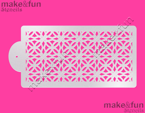 Abstract Cake Stencil, Face Painting Stencil||Abstract Print Schablonen, Airbrush und Royal Icing