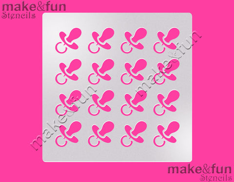 Baby shower Cookie Stencil, Airbrushing, Craft Stencil|Fellmuster Schablonen, Airbrush und Royal Icing