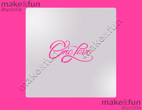 "5.5""x5.5"" Cookie Stencil, Airbrushing, Craft Stencil