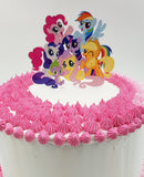 Pony Cake Topper, Acrylic glass topper| Torten Hochzeit Topper