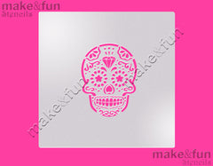 "5.5""x5.5"" Cookie Stencil Face Painting Stencil