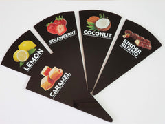 12 pcs Gelato Flavor Markers, Ice Cream Labels, Flavor Tags, Gelato Stickers, Ice Cream Sticks