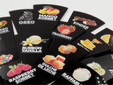 Gelato Flavor Marker, Ice Cream Flavor Signs Labels, Flavor Tags,Gelato Stickers, Ice Cream Sticks