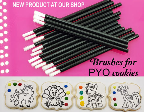 "PYO Cookie Soft Brushes 3.5"" Cookie Stencil"