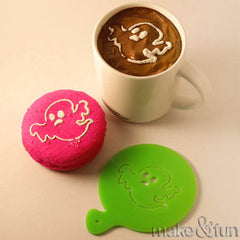 Copy of Coffee Stencil, Cookie Stencil, Hallowen Stencil|Kaffee Schablone, Keks Schablonen