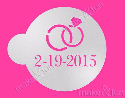 Custom Monogram Cookie Stencil, Airbrushing Stencil|Monogramm Schablone, Airbrush und Royal Icing