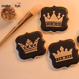 4 pcs Crown Cookie Stencil, Royal Icing|4 Stück Schablonen, Airbrush und Royal Icing