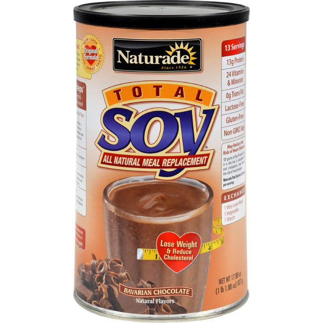 Naturade Total Soy Meal Replacement Bavarian Chocolate - 18 Oz